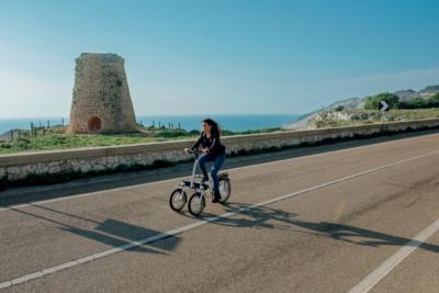 Smartes Bike mit drei Rädern