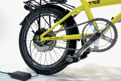 Fahrrad mit Neigetechnik