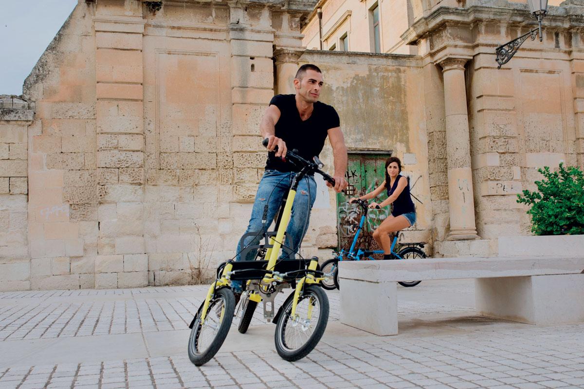 E-Trike mit Neigetechnik