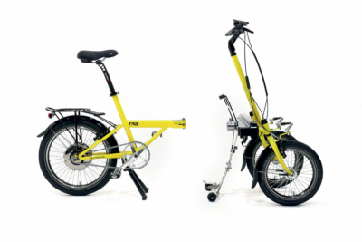 Folding bike a tre ruote
