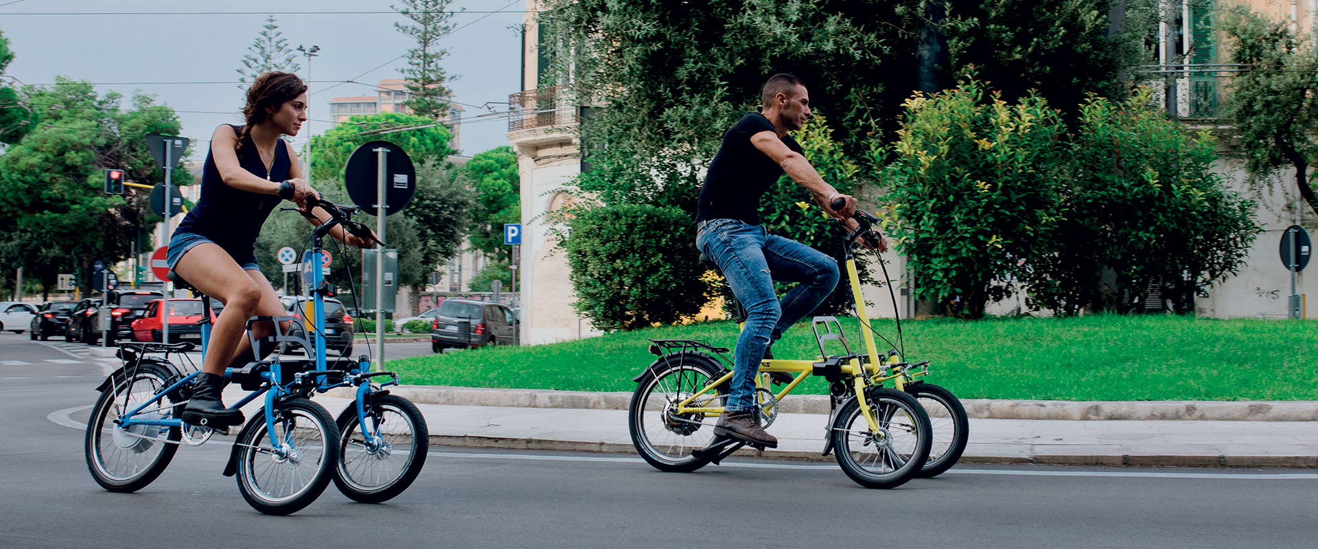 E-bike E-trike basculanti inclinabili