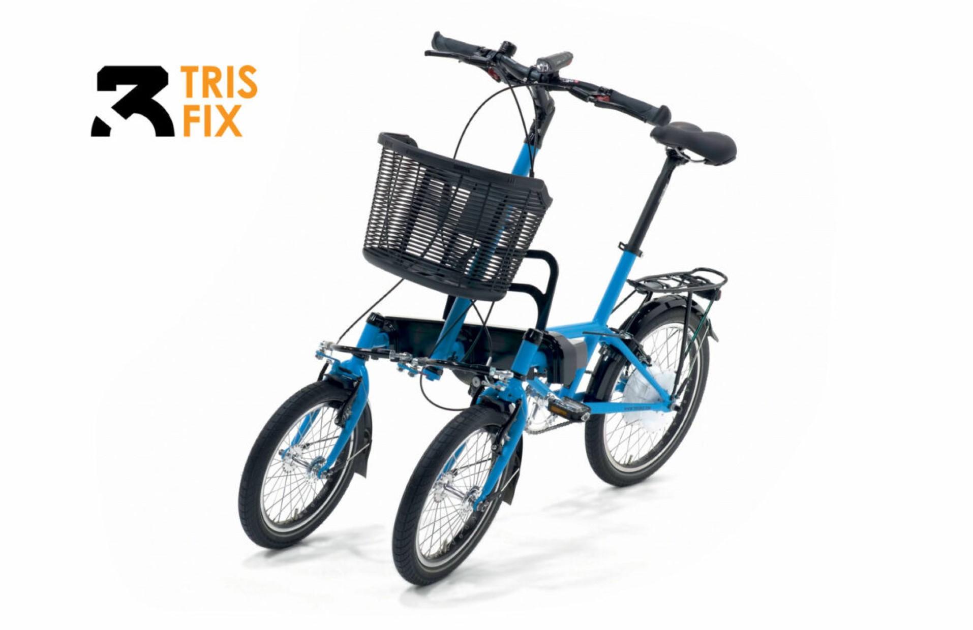 Leaning e-trike